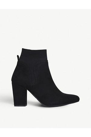Kurt Geiger Tobi faux-suede ankle boots