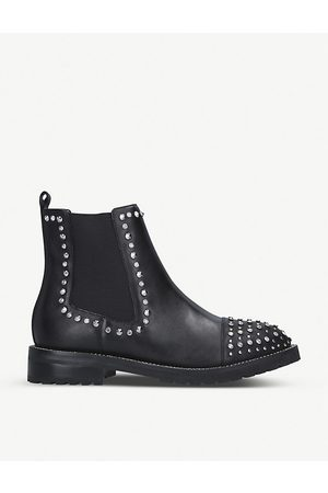 Kurt Geiger Raven studded leather Chelsea boots