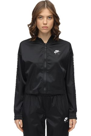 Nike Zip-up Satin Sweatshirt