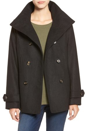 Thread & Supply Women's Double Breasted Peacoat