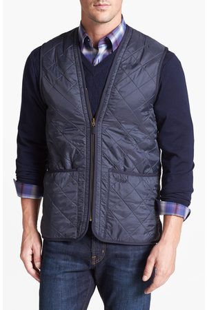 Barbour Men's 'Polarquilt' Relaxed Fit Zip-In Liner Vest