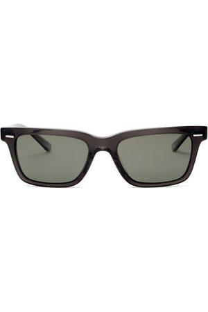 The Row X Oliver Peoples Ba Cc Rectangular Sunglasses - Womens - Grey