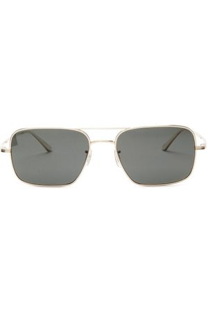 The Row X Oliver Peoples Victory La Square Sunglasses - Womens - Dark