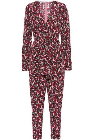 Stella McCartney Floral silk jumpsuit