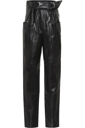 Isabel Marant Ferris high-rise leather pants