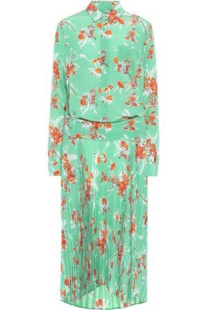 Plan C Silk crêpe de chine shirt dress