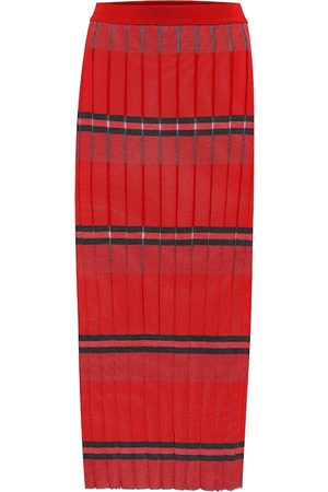 Marni Striped knit midi skirt
