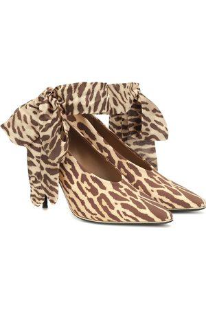 ZIMMERMANN Women Heels - Leopard stretch-knit pumps