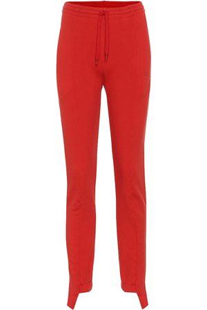 Vetements Stretch-cotton jersey trackpants