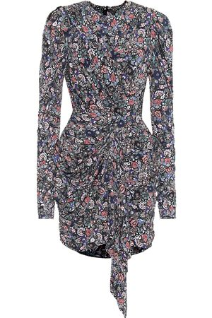 Isabel Marant Tonia printed stretch-jersey minidress