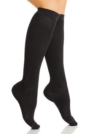 HUE Graduated Compression Knee Socks, Set of 3