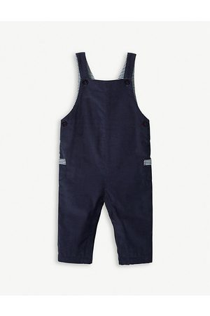 The Little White Company Cord cotton dungarees 0-24 months