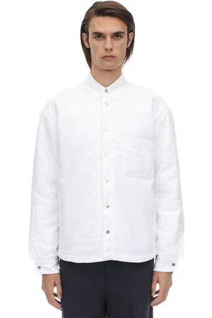Jacquemus Embroidered Logo Cotton Poplin Shirt