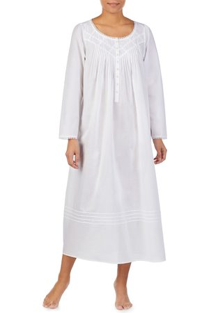 Eileen West Women's Long Sleeve Nightgown