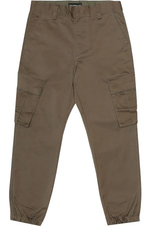 Emporio Armani Stretch-cotton pants