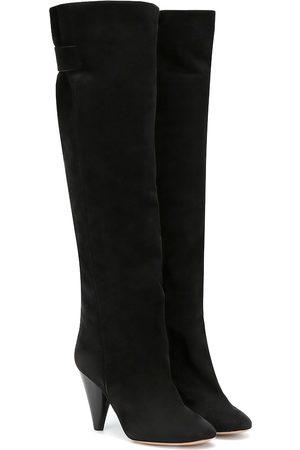 Isabel Marant Lacine suede knee-high boots