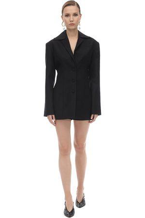MATÉRIEL by Aleksandre Akhalkatsishvili Women Blazers - Wool Blend Corset Blazer
