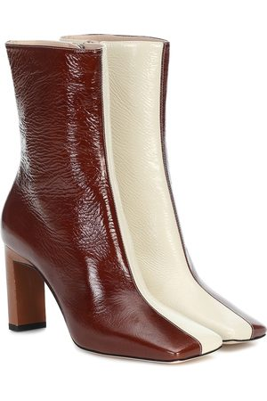 Wandler Isa 85 leather ankle boots