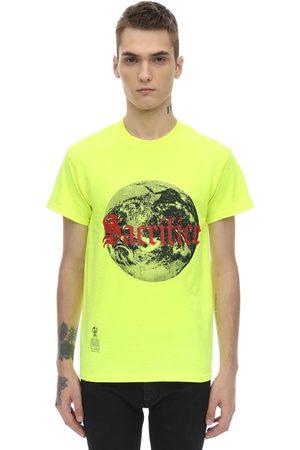 DARKOVELI Sacrifice Cotton Jersey T-shirt