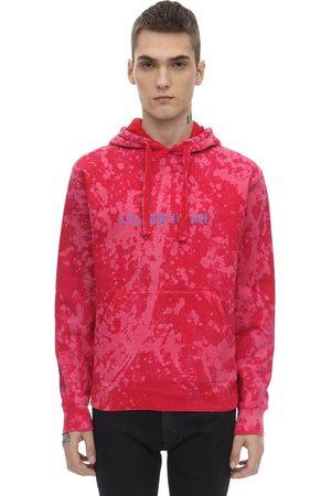 DARKOVELI Tie Dye Jersey Sweatshirt Hoodie