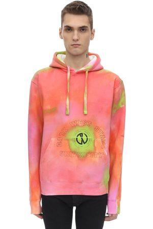 DARKOVELI Tie Dye Printed Jersey Sweatshirt Hoodie