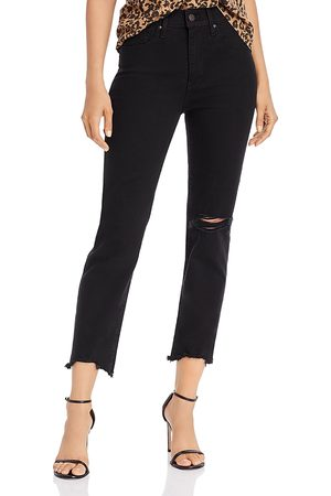Levi's 724 High-Rise Cropped Straight-Leg Jeans in Pixel