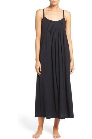 Hanro Women's Juliet Pleat Neck Cotton Nightgown