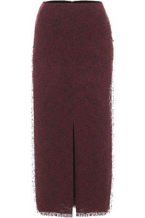 Roland Mouret Booth wool-blend pencil skirt