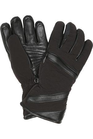Toni Sailer Alek leather-trimmed ski gloves