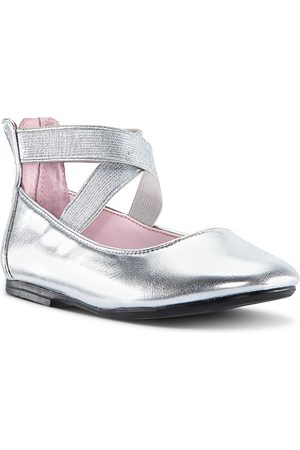 NINA Girls Ballerinas - Girls' Marissa Crisscross Strap Ballet Flats - Little Kid, Big Kid