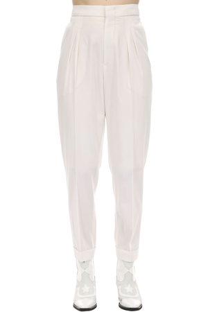 Isabel Marant Pelisso Wool Suit Pants