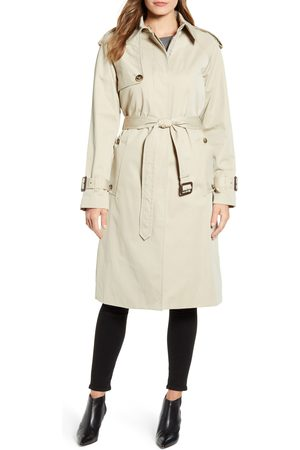 London Fog Women's Heritage Water Repellent Trench Coat