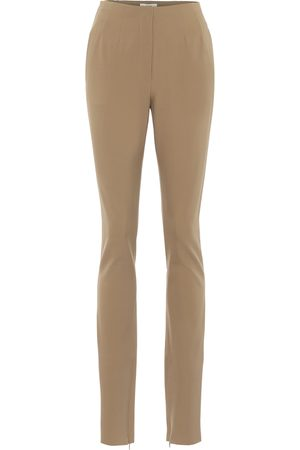 The Row Corso stretch wool-blend pants