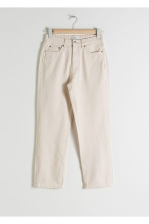 & OTHER STORIES Straight High Rise Jeans