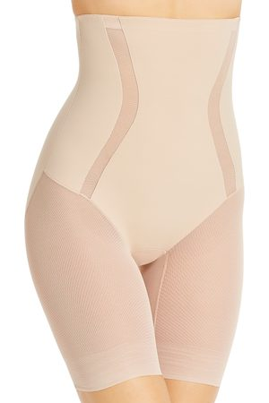 TC Fine Intimates High-Waist Thigh Slimmer Shorts