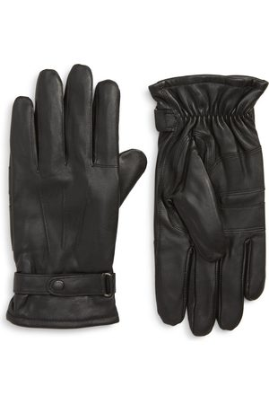 Barbour Men's Burnished Leather Gloves