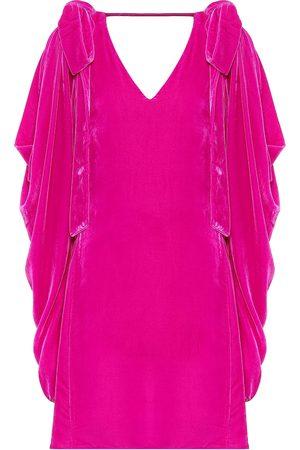 Les Rêveries Women Mini Dresses - Velvet minidress