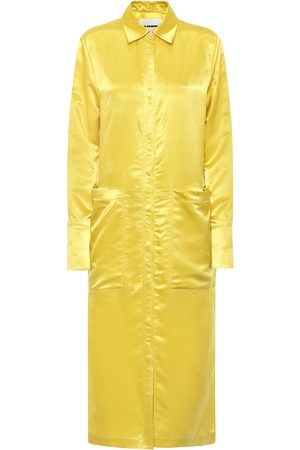 Jil Sander Satin shirtdress