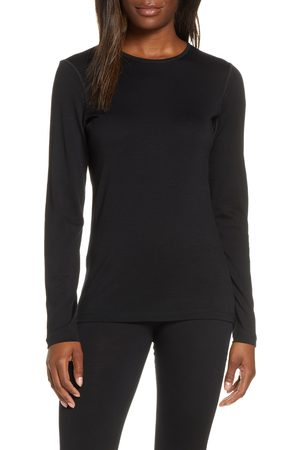 Icebreaker Women's Oasis Long Sleeve Merino Wool Base Layer Tee