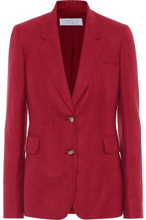 GABRIELA HEARST Exclusive to Mytheresa – Sophie wool, silk and linen blazer