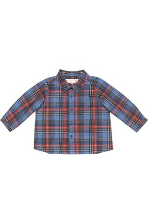 BONPOINT Baby Mico checked cotton shirt