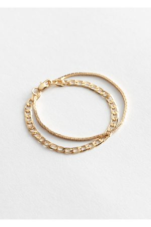 & OTHER STORIES Duo Chain Bracelet