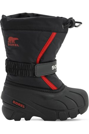 sorel Water & Wind Resistant Nylon Snow Boots