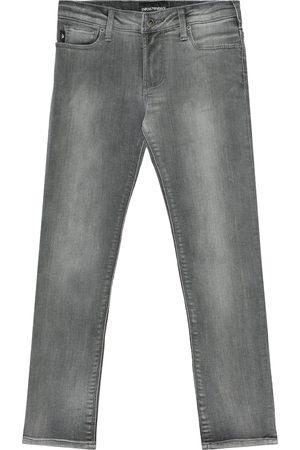 Emporio Armani Cotton-blend jeans