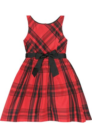 Ralph Lauren Checked taffeta dress
