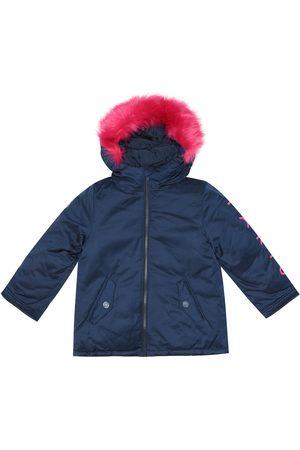 Kenzo Faux fur-trimmed jacket
