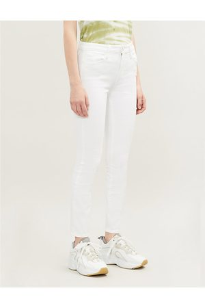 Paige Hoxton Ankle tapered high-rise jeans
