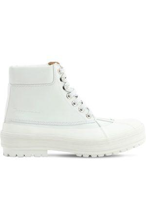 Jacquemus 40mm Les Meuniers Leather Boots