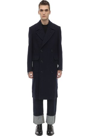MP MASSIMO PIOMBO Double Breasted Wool Coat
