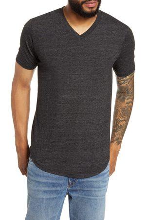 miss goodlife Men T-shirts - Men's Scallop Triblend V-Neck T-Shirt